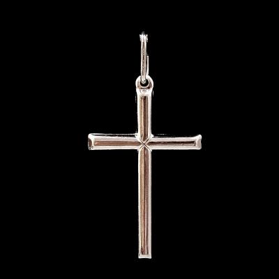 Colgante Cruz de plata 925 mm
