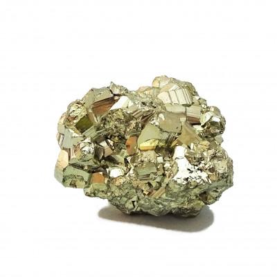 Grupo de cristales Pirita