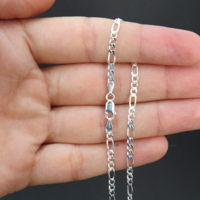 Cadena de plata 1ª ley 60 cm 701060