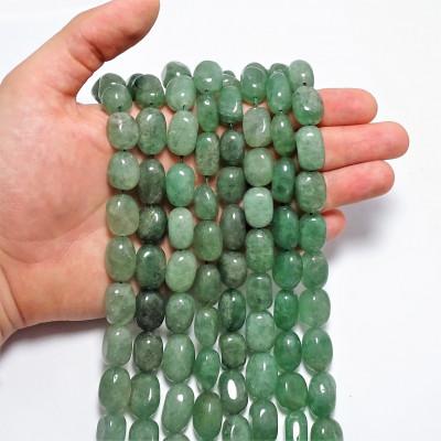 Hilo Cuarzo Verde Rodado