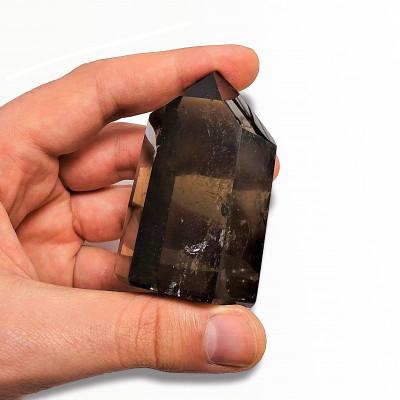Pulsera obsidiana nevada y plata