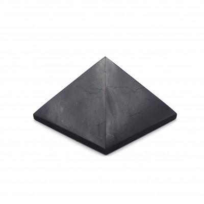 Pirámide Shungit 7x7 Brillo