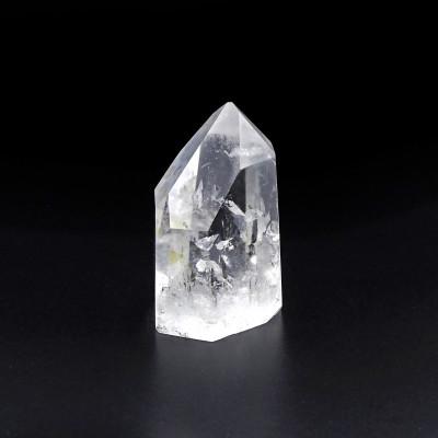 Punta de Cuarzo Cristal de Roca tallada