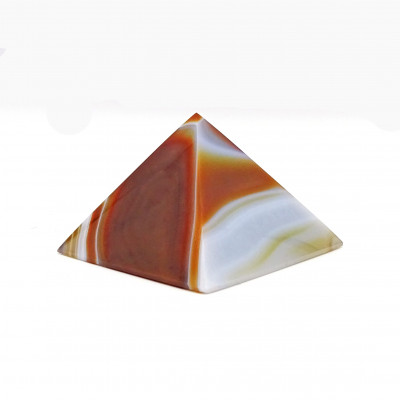 Pirámide de Ágata Cornalina
