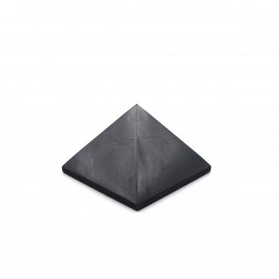 Pirámide Shungit 3 cm brillo