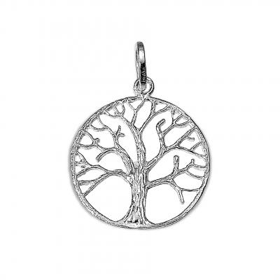 Colgante Árbol de la vida de plata 1ª ley