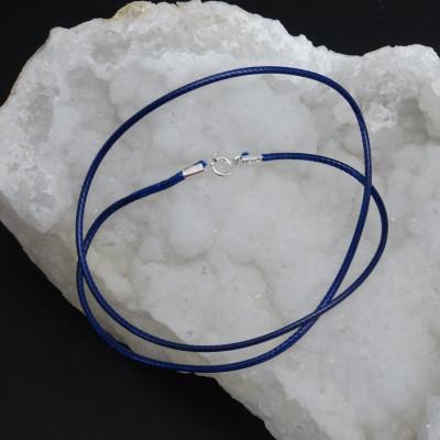 Cordón de Algodón Azul Marino