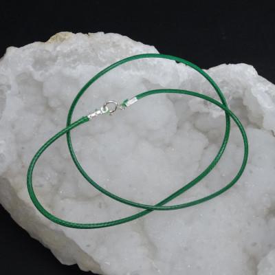 Cordón de Algodón Verde