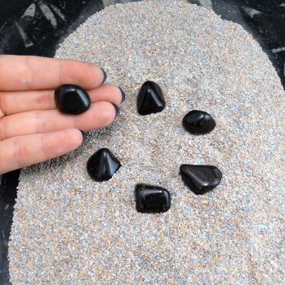 Rodado onix negro pequeño