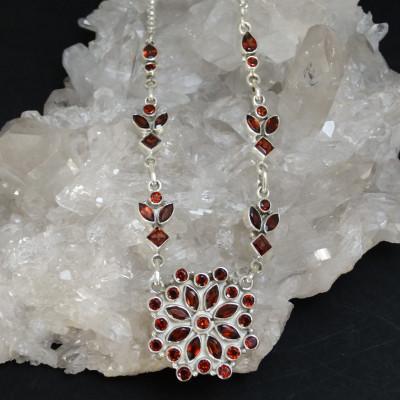 Pendientes jaspe rojo