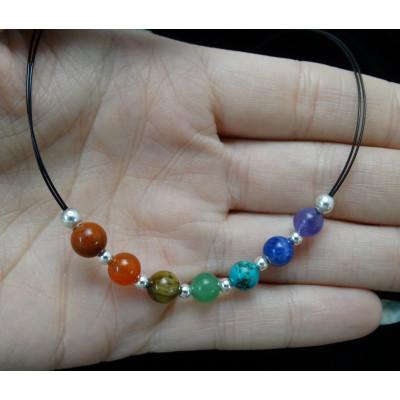 Collar 7 chakras