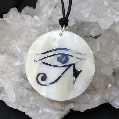 Colgante nácar ojo de horus