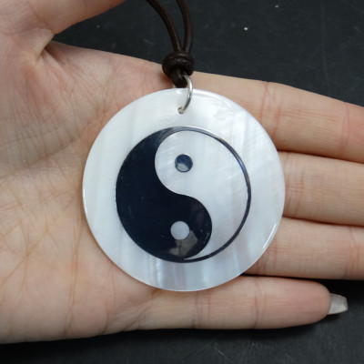 Colgante nácar yin-yang