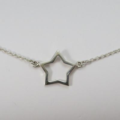 Collar colgante estrella
