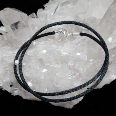 Cordón seda negro