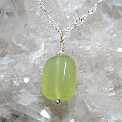 Colgante Escorpio / Jade con cadena de plata 1ª ley