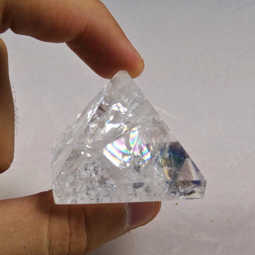 Colgante cuarzo cristal de roca