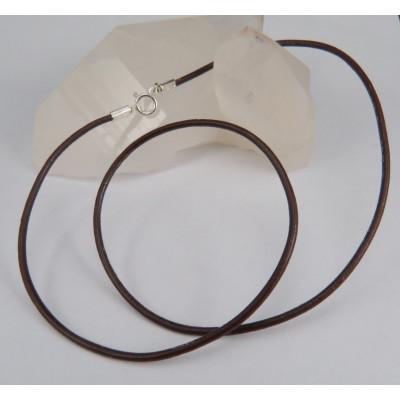 Cordón cuero marrón diferentes medidas