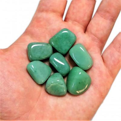 Rodado Pequeño Cuarzo Verde